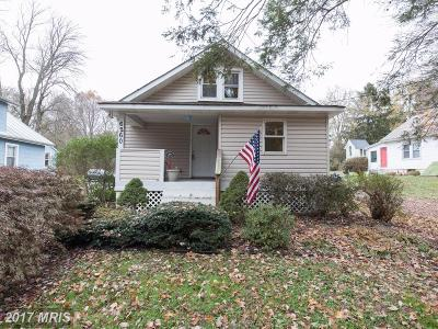 Sykesville Single Family Home For Sale: 6260 Oakland Mills Road