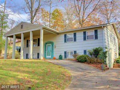 Sykesville Single Family Home For Sale: 6130 Oak Hill Drive
