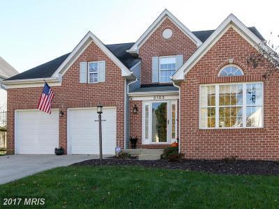 Eldersburg Single Family Home For Sale: 2103 Cottage Hill Court