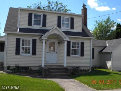 Westminster Single Family Home For Sale: 221 Shipley Avenue