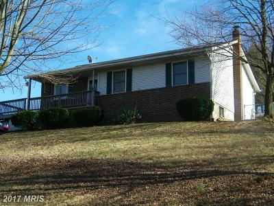 Single Family Home For Sale: 2261 Hughes Shop Road