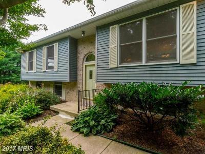 Finksburg Single Family Home For Sale: 2484 Lewis Lane