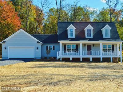 Culpeper Single Family Home For Sale: 19743 Old Orange Road