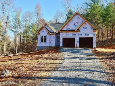 Culpeper Single Family Home For Sale: Mountain Run Lake