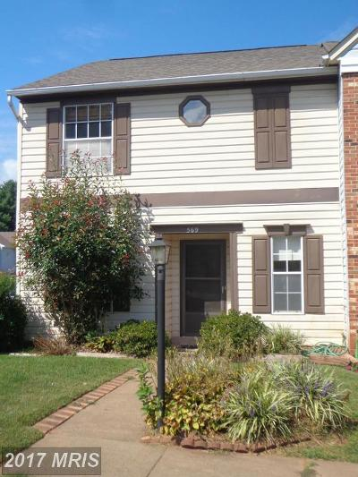Culpeper Rental For Rent: 569 Cromwell Court