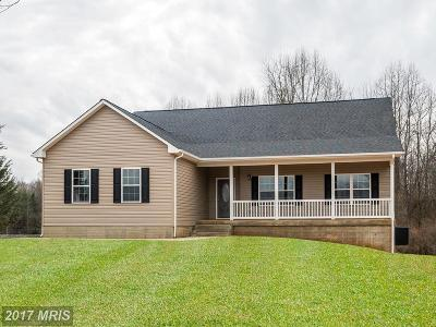 Culpeper Single Family Home For Sale: Jonas