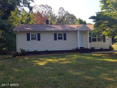 Culpeper Single Family Home For Sale: 12297 Jamesons Mill Road