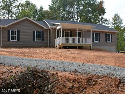 Culpeper Single Family Home For Sale: 15029 Amos Lane