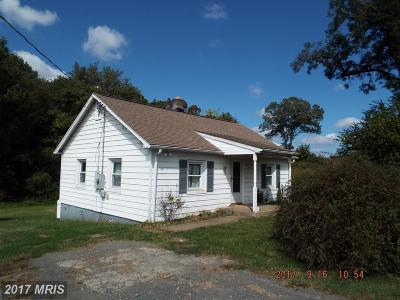 Culpeper Single Family Home For Sale: 14070 Norman Road