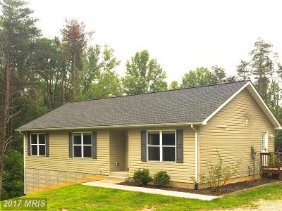 Culpeper Single Family Home For Sale: 10280 Sperryville Pike