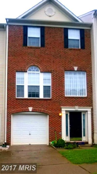 Culpeper Townhouse For Sale: 835 Persimmon Place