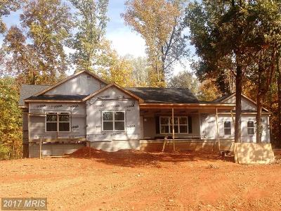Culpeper Single Family Home For Sale: Mountain Run Lake Road