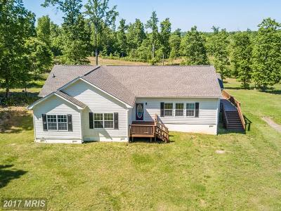 Culpeper Single Family Home For Sale: 34160 Richards Ferry Road