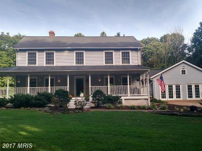 Culpeper Single Family Home For Sale: 21183 Old Orange Road