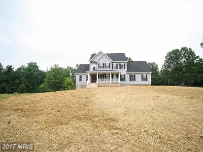 Culpeper Single Family Home For Sale: Jonas Road