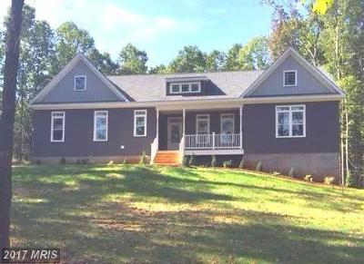 Culpeper Single Family Home For Sale: 11474 Dutch Hollow Road