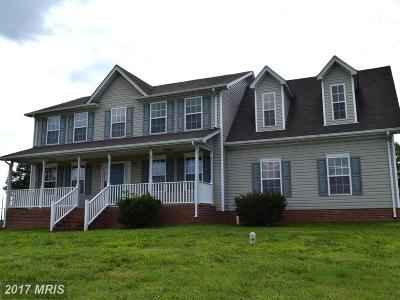 Culpeper Single Family Home For Sale: 20162 Miller Drive