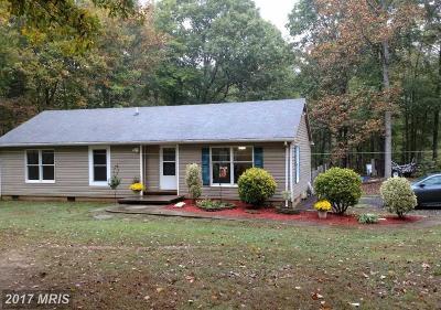 Culpeper Single Family Home For Sale: 17393 Merrimac Road N