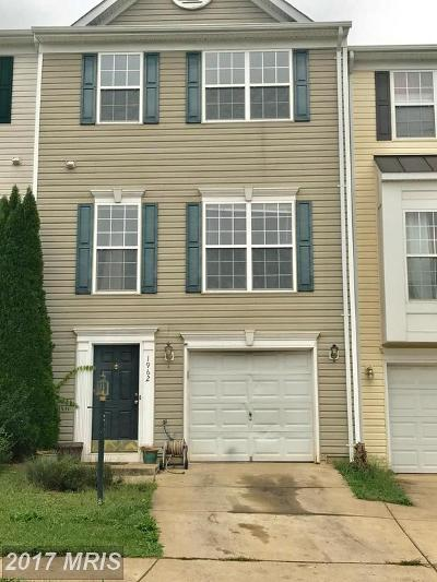 Culpeper Townhouse For Sale: 1962 Peachtree Court