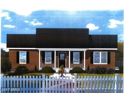 Culpeper Single Family Home For Sale: Lot 5 Woodland Church Rd. Road