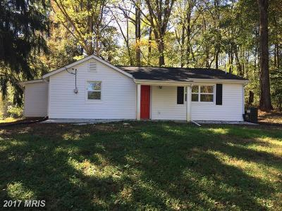 Culpeper Single Family Home For Sale: 5204 Rixeyville Road