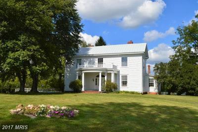 Culpeper Farm For Sale: 13406 Mt Zion Church Road