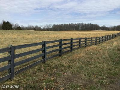 Rappahannock, Fauquier, Madison, Culpeper Residential Lots & Land For Sale: Ryland Chapel Road