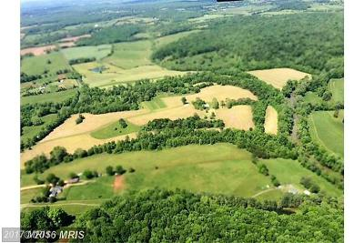 Rappahannock, Fauquier, Madison, Culpeper Residential Lots & Land For Sale: 17802 Ryland Chapel Road