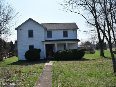 Culpeper Single Family Home For Sale: 16722 Glen Ella Road