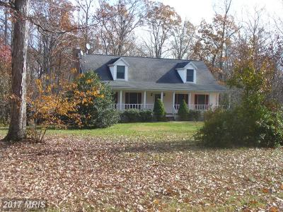 Lignum Single Family Home For Sale: 20313 Country Lane