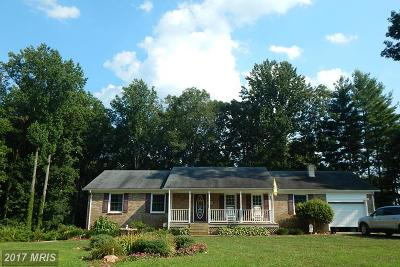 Culpeper Single Family Home For Sale: 15397 Norman Road