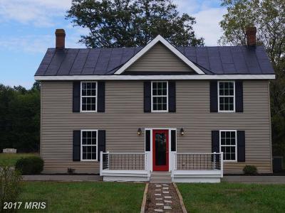 Single Family Home For Sale: 15205 Stevensburg Road