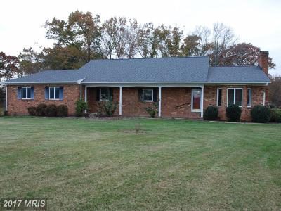 Culpeper Single Family Home For Sale: 12512 Alum Springs Road