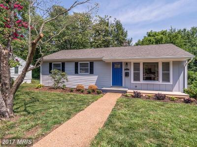 Culpeper Single Family Home For Sale: 1117 Farley Street
