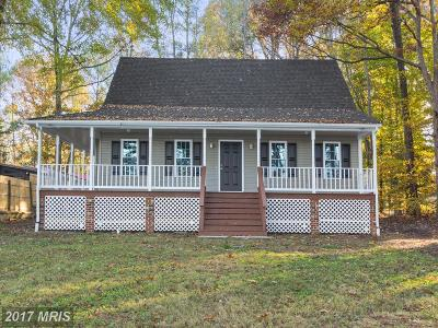 Beaverdam, Bowling Green, Doswell, Fredericksburg, Hanover, Ladysmith, Milford, Port Royal, Rappahannock Academy, Ruther Glen, Woodford Single Family Home For Sale: 142 Lake Caroline Drive