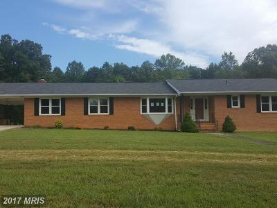 Caroline Single Family Home For Sale: 14109 Villeboro Road