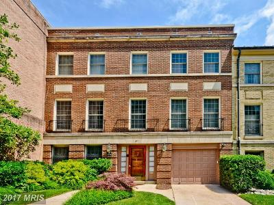 Chevy Chase Townhouse For Sale: 2711 Unicorn Lane NW