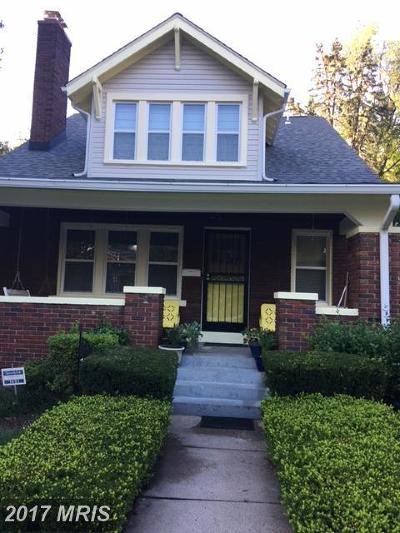 Rental For Rent: 1431 Holly Street NW