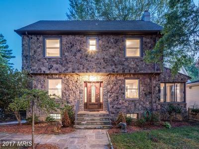 Chevy Chase Single Family Home For Sale: 3344 Military Road NW