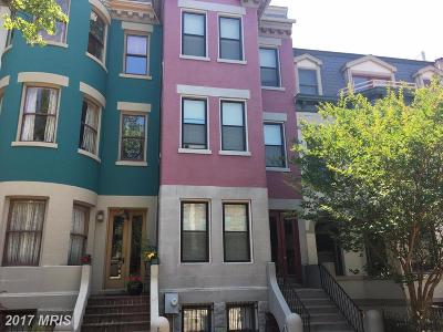 Columbia Heights, Columbia Heights/U St Townhouse For Sale: 1318 Kenyon Street NW