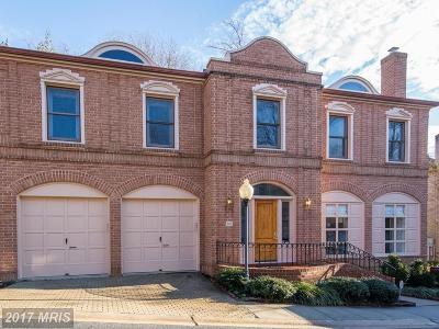 Washington Single Family Home For Sale: 4609 Foxhall Crescent NW