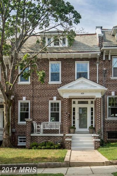 Washington Condo For Sale: 1626 Webster Street NW