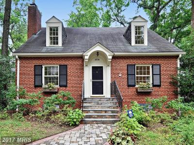 Single Family Home For Sale: 2809 Brandywine Street NW