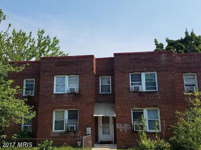 Washington DC Multi Family Home For Sale: $510,000
