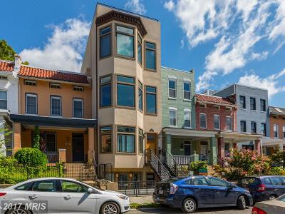 Columbia Heights, Columbia Heights/U St Townhouse For Sale: 1429 Meridian Place NW #A