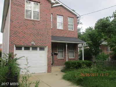 Single Family Home For Sale: 5120 B Street SE