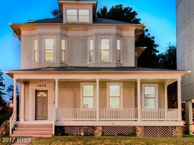 Washington Single Family Home For Sale: 3219 Wisconsin Avenue NW