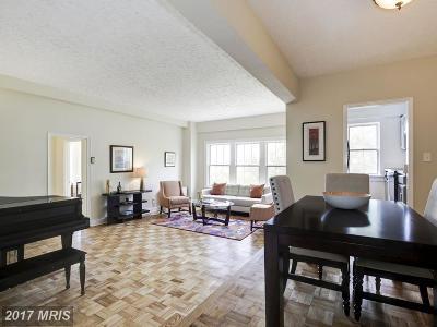 Washington Condo For Sale: 3901 Cathedral Avenue NW #615