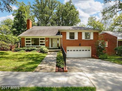 Single Family Home For Sale: 1911 Sudbury Road NW