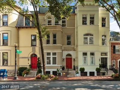 Georgetown Townhouse For Sale: 3002 Q Street NW